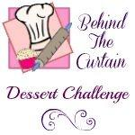 dessert challenge button Puffy Raspberry Almond Clafoutis