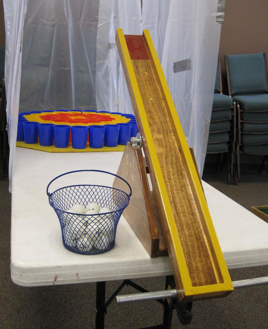 Ping Pong Fling Game