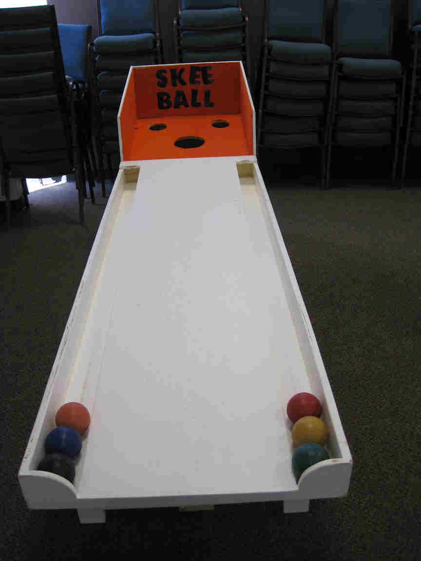 How to Make a Homemade Skee Ball Game Using Boxes | Our ...