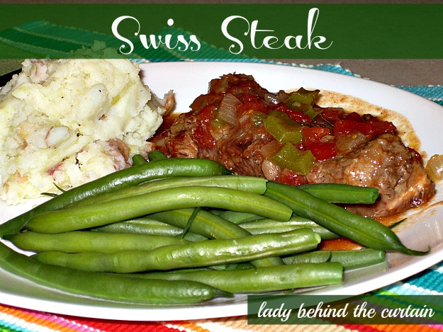 Lady Behind The Curtain - Swiss Steak