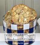 White Chocolate/Coconut Macadamia Nut Cookies