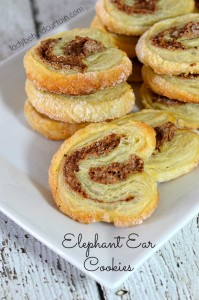 Elephant Ear Cookies - Lady Behind The Curtain