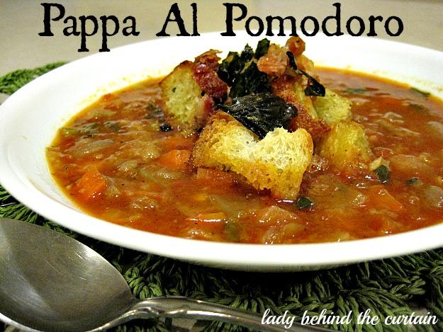 Lady Behind The Curtain - Pappa Al Pomodoro