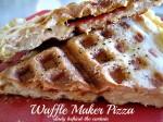 Waffle Maker Pizza