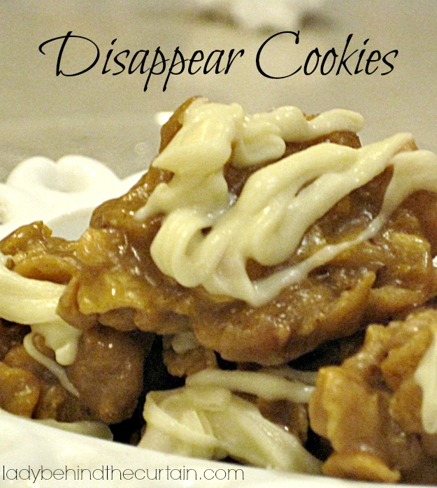 Disappear Cookies