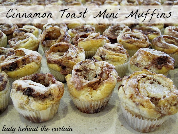 Cinnamon Toast Mini Muffins