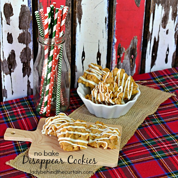 No Bake Disappear Cookies - Lady Behind The Curtain