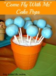 """Come Fly With Me"" Cake Pops"