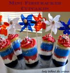Mini Firecracker Cupcakes