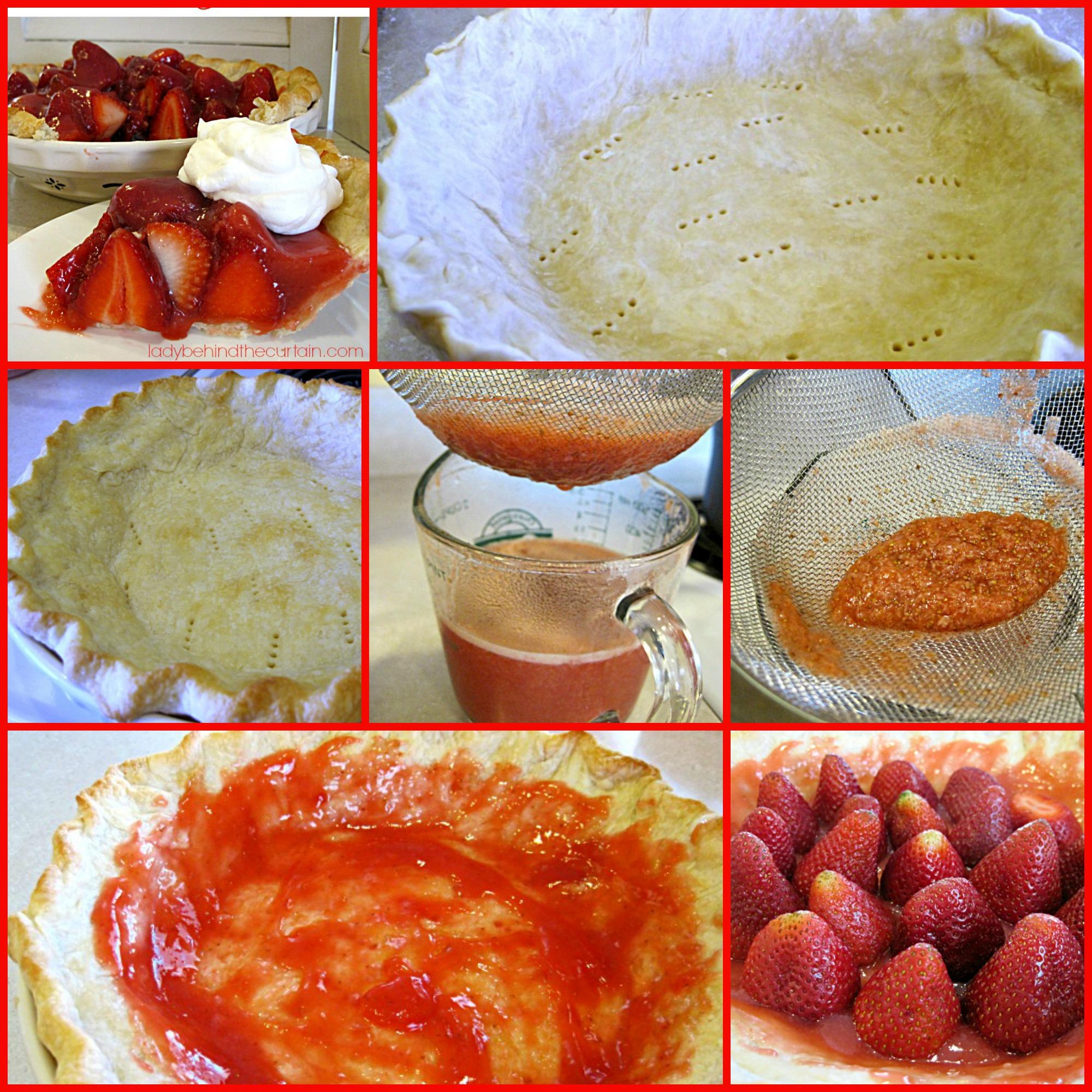 Fresh Strawberry Pie With Orange Liqueur Glaze Recipes — Dishmaps