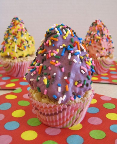 Perfect Party Favor For Cupcake or Ice Cream Themed Parties