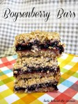 Boysenberry Bars