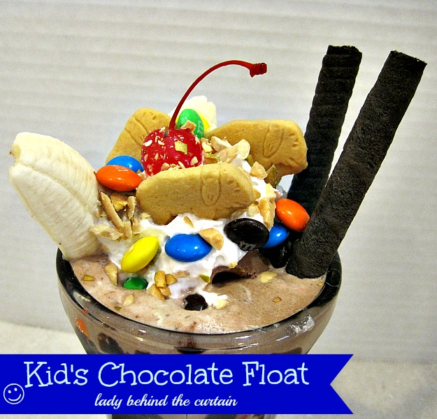 Lady Behind The Curtain - Kid's Chocolate Float