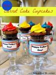 Mini Carrot Cake Cupcakes
