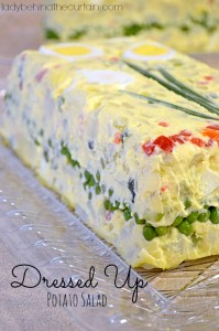 Dress Up Potato Salad - Lady Behind The Curtain