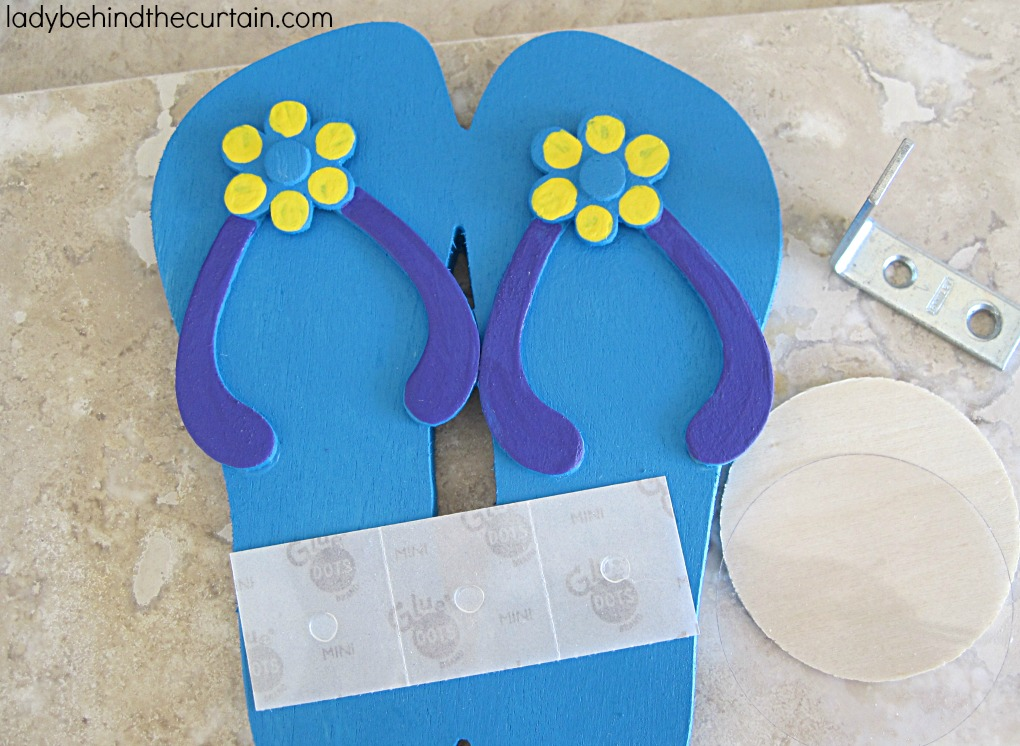 Flip Flops and Flamingos Summer Party | YES! I put flip flops on my flamingos! Why not? The sand is hot and they have places to go! Flamingos wearing flip flops walking in the sand. Is there anything more humorous then that? Your guests will flip over how fun and whimsy you made your summer party. Have fun in the sun with FLAMINGOS!
