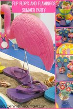 Flip Flops And Flamingos Summer Party