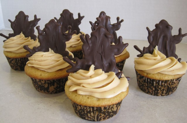 Harry Potter Butterbeer Cupcakes