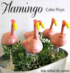 Flamingo Cake Pops