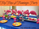 Flip Flops And Flamingos Party