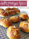 Soft Pretzel Rolls (the many uses)