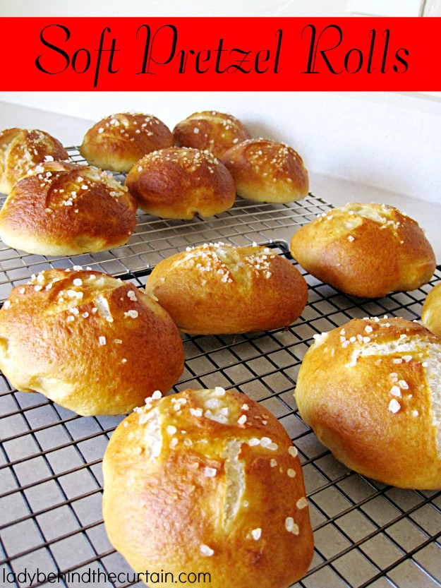 Pretzel Rolls Recipe — Dishmaps