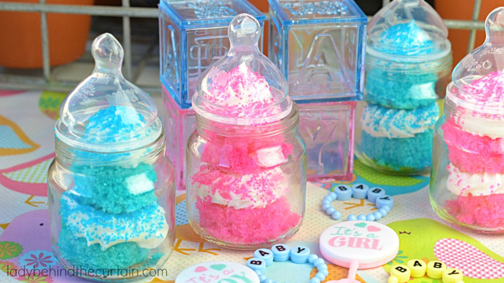 Baby Shower Cupcakes - Lady Behind The Curtain