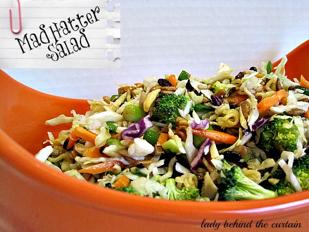 Lady Behind The Curtain - Mad Hatter Salad