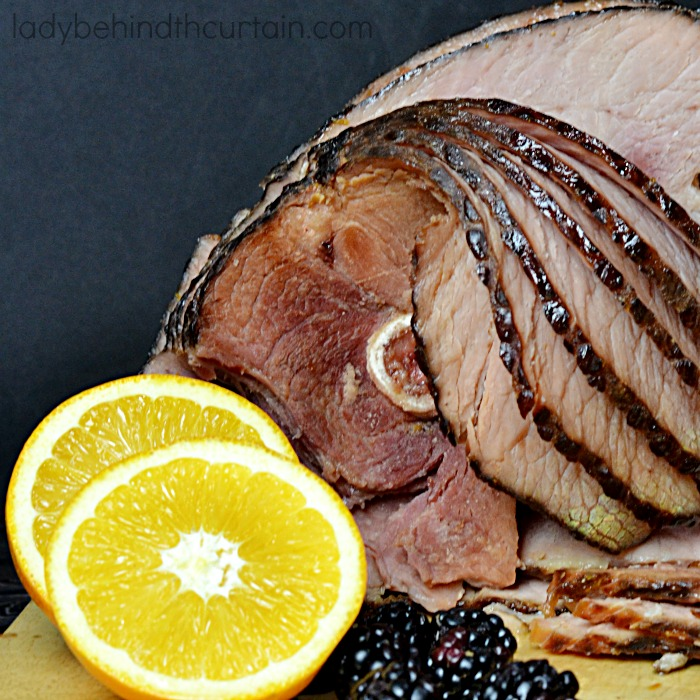 Maple Blackberry Orange Glazed Ham | Pump up the flavor of your holiday ham with a delicious glaze offering great maple and orange flavor.