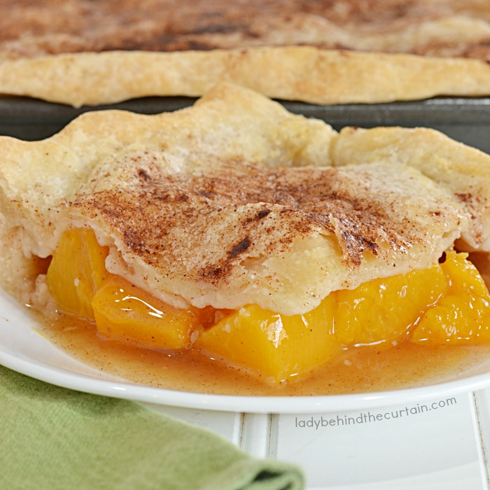 Potluck Peach Slab Pie