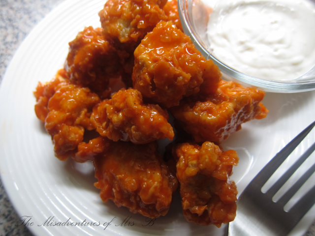 Buffalo Chicken Bites by The Misadventures of Mrs. B!
