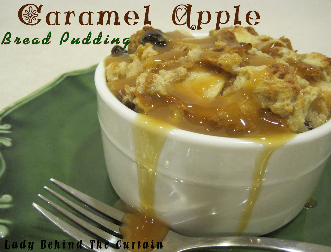 Published May 30, 2012 at 1152 × 879 in Caramel Apple Bread Pudding