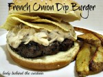 French Onion Dip Burger