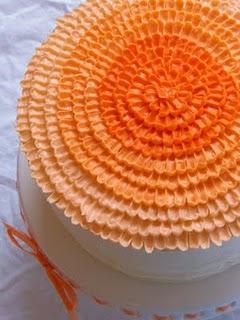 Orange Creamsicle Cake