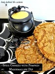 Spice Cookies With Pumpkin Marshmallow Dip