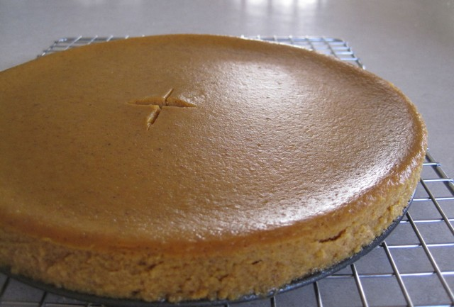 The De-Constructed Pumpkin Pie