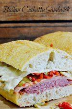 Italian Ciabatta Sandwich