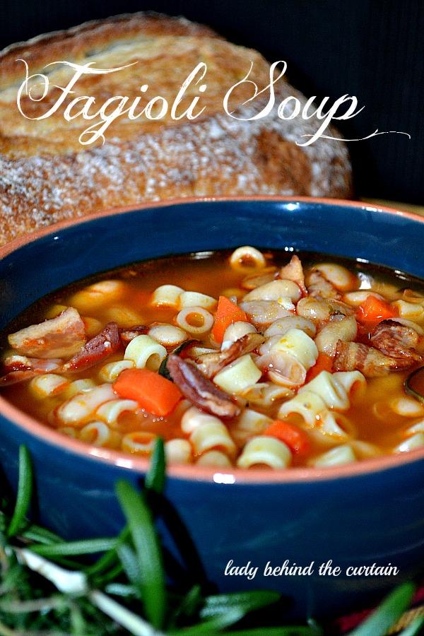 Lady Behind The Curtain - Fagioli Soup