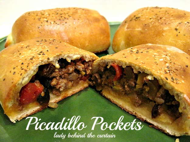 Lady Behind The Curtain - Picadillo Pockets