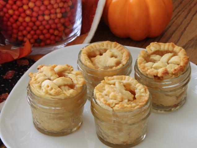 Peach Pie In A Jar