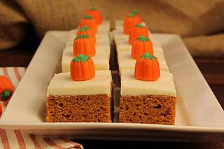 Killer Pumpkin Bars