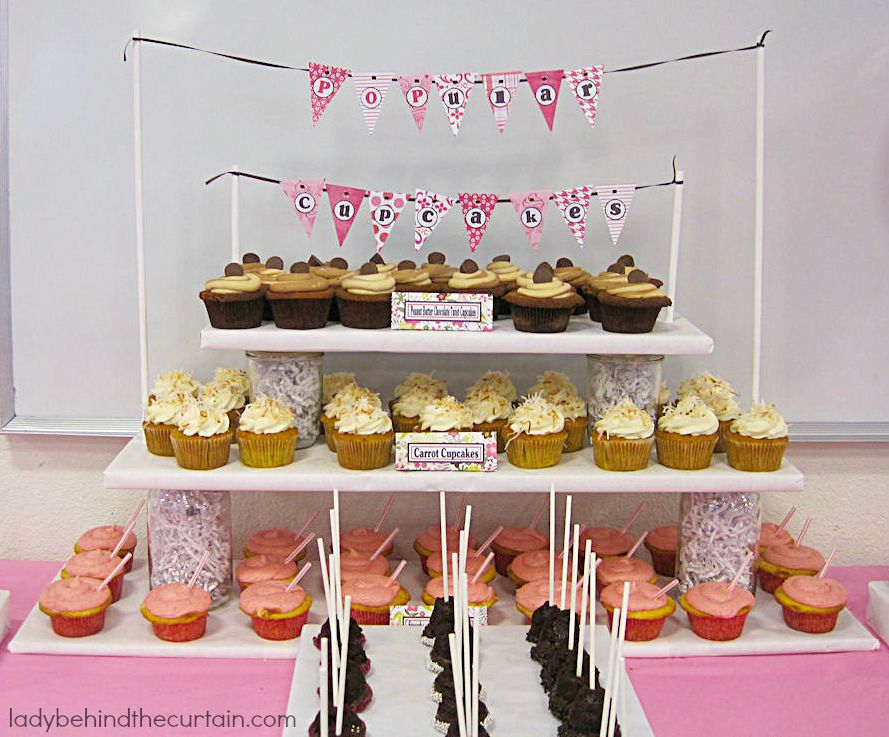 Diy Cake Pop Display