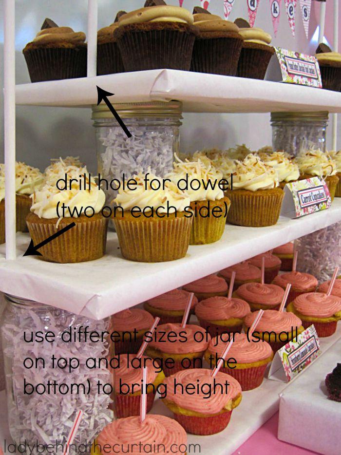 5 Diy Cupcake Stands