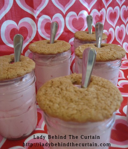 Strawberry Cheesecake with Graham Cracker Topper