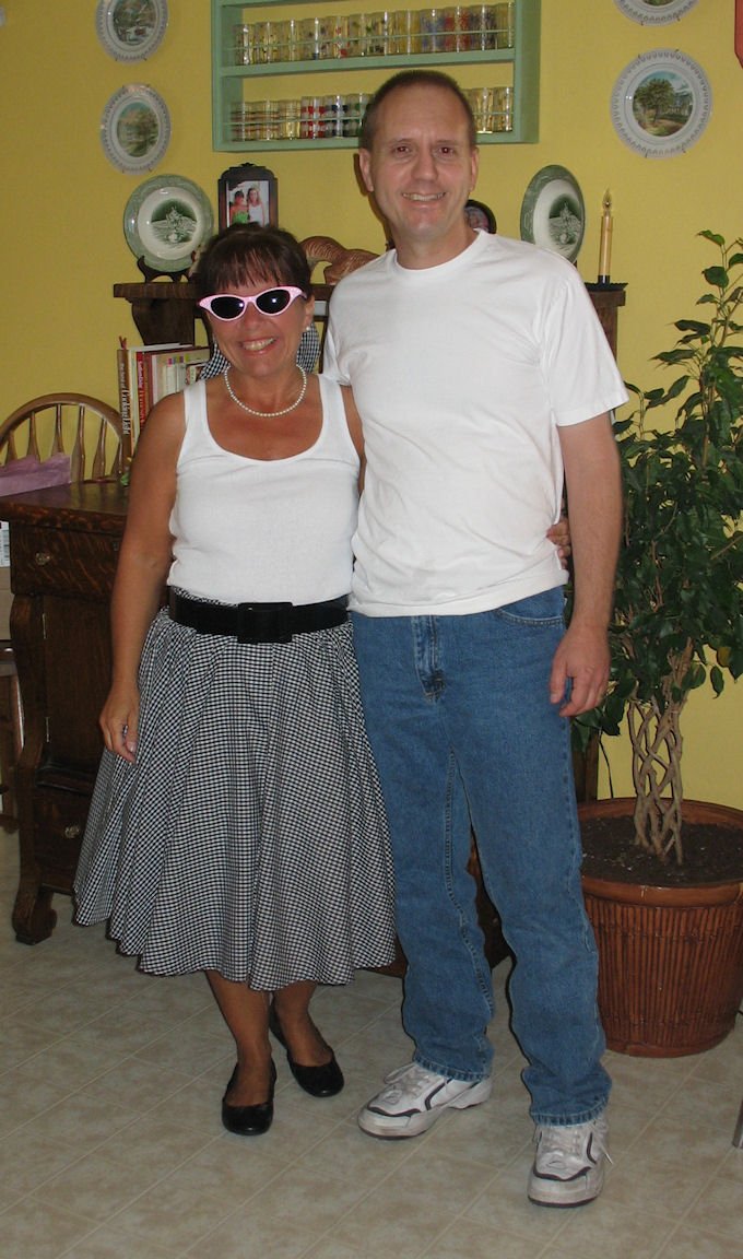 50th Birthday Party 50s Style