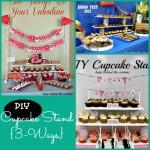 DIY Cupcake Stand {3-Ways}
