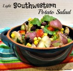 Light Southwestern Potato Salad