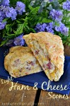 Light Ham and Cheese Scones