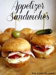 Appetizer Sandwiches