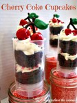 Lady Behind The Curtain - Cherry Coke Cupcakes
